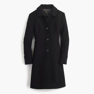 J. Crew Double-Cloth Wool Thinsulate Lady Day Coat